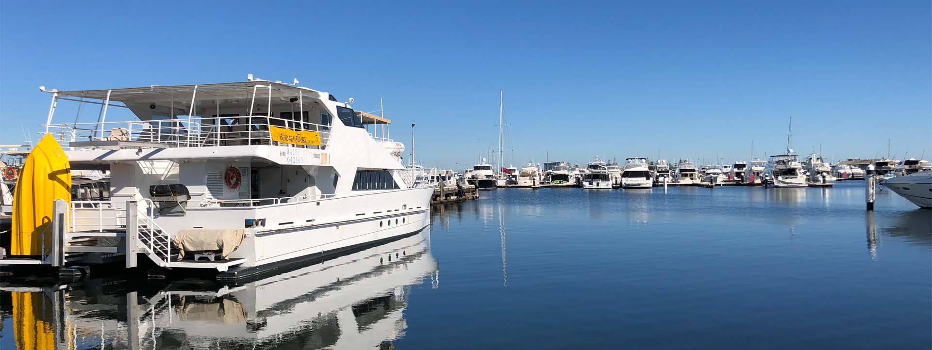 ECO ADVENTURE TOURISM boat side profile